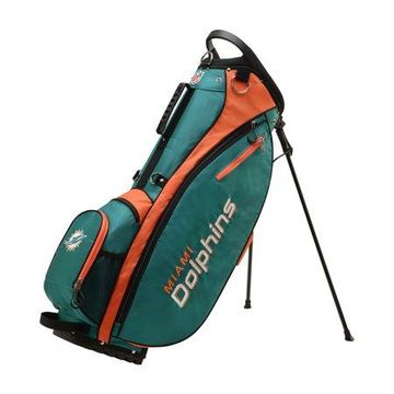 Wilson NFL Carry Golf Bag, Miami Dolphins