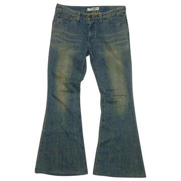 Comme Des Garcons Blue Denim - Jeans Jeans