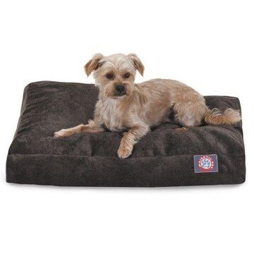 Majestic Pet Villa Velvet Rectangle Dog Bed