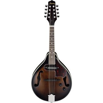 A-Style Acoustic-Electric Mandolin Dark Violin Sunburst