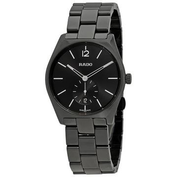 Rado True Specchio Black Dial Men's Watch R27081152