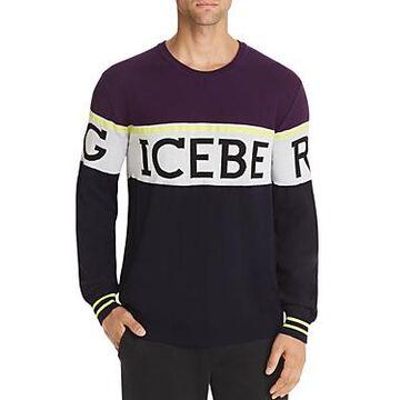 Iceberg Logo Striped Sweater