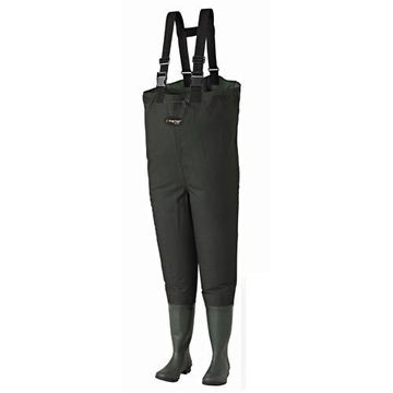 Frogg Toggs Men's Cascades Bootfoot Chest Waders Size 8 Style Green