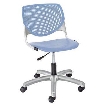 KFI KOOL Armless Home and Office Computer Chair