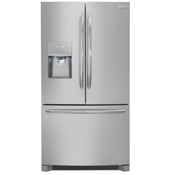 Frigidaire Gallery 26.8-cu ft French Door Refrigerator with Dual Ice Maker (Smudge-Proof Stainless Steel Stainless Steel) ENERGY STAR