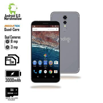 P1 Pro 6.3-inch SmartPhone by Indigi, Android Pie, 6GB+128GB (4G LTE GSM Unlocked) +32gb microSD