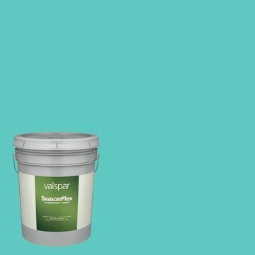 Valspar SeasonFlex Satin Bayside 5006-10a Exterior Paint (5-Gallon)