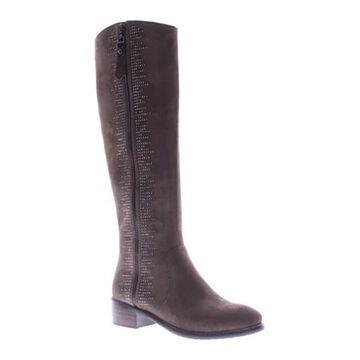 Azura Women's Blackenbury Boot Taupe Micro Suede