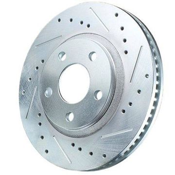 Power Stop AR82118XPR Evolution Drilled & Slotted Rotors -Rear