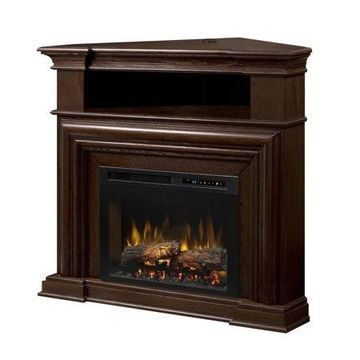 Dimplex Montgomery Media Console Electric Fireplace With Logs for TVs up to 46