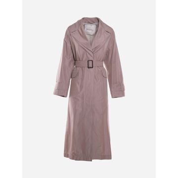 Max Mara Technical Cotton Taffeta Trench Coat