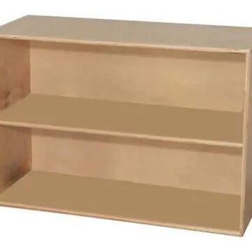 Wood Designs Storage Two Shelf Modular Storage, Birch | Quill