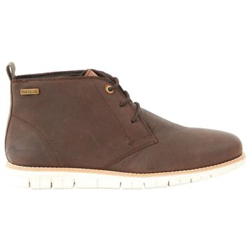Barbour Brown Leather Boots
