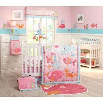 Carter's Sea 4pc Crib Bedding Set