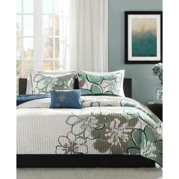 Mi Zone Allison 3-Pc. Twin/Twin Xl Coverlet Set Bedding