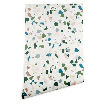 Deny Designs Holli Zollinger Terrazzo Wallpaper, Multi, 2'x10'