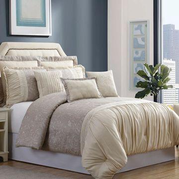 Pacific Coast Textiles 8-Piece Jacquard Comforter Set Jardin
