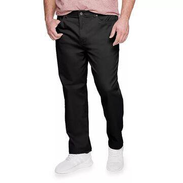 Big & Tall Sonoma Goods For Life Regular-Fit 5-Pocket Knit Pants, Men's, Size: 34X36, Black