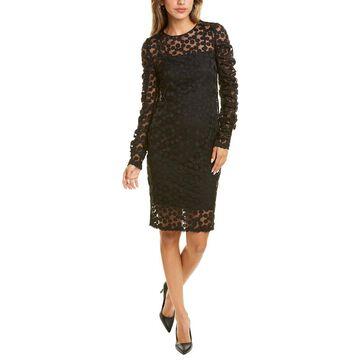 Akris Punto Dotted Sheath Dress