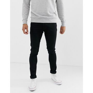 Nudie Jeans Co Tight Terry super skinny fit jeans in ever black wash