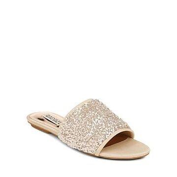 Badgley Mischka Women's Gita Embellished Sandals