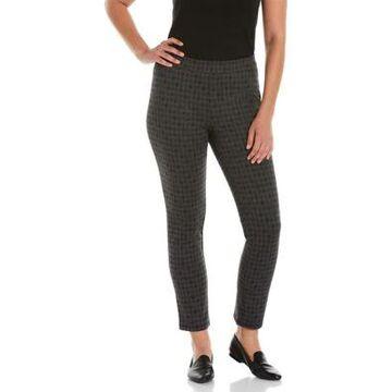 Rafaella Women's Houndstooth Pull On Pants -