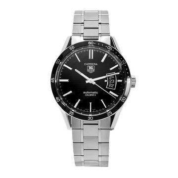 Tag Heuer Men's WV211M.BA0787 'Carrera' Automatic Stainless Steel Watch