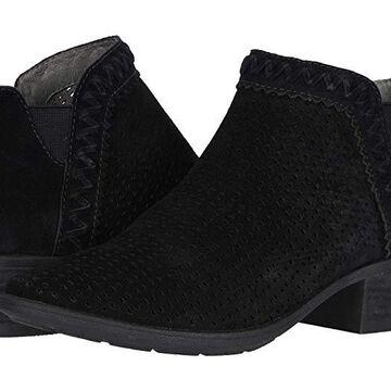 Earth Peak Perry (Black Premium Cow Suede/Calf PU) Women's Shoes