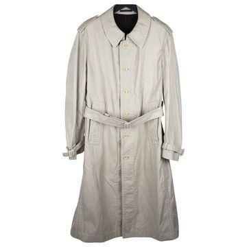 Yohji Yamamoto Beige Cotton Coats