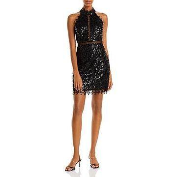 Bardot Low Back Sequin Dress