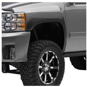 EGR 751404 Fender Flares For 2007-2013 Chevrolet Silverado 1500 - Front and Rear, Driver and Passenger Side