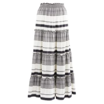 Zimmermann Black Cotton Skirts