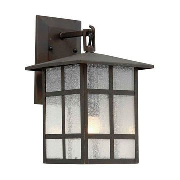 Forte Lighting 1219-01 Outdoor 8Wx16.25Hx9E Wall Sconce
