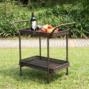 Jeco Inc. Steel Serving Cart