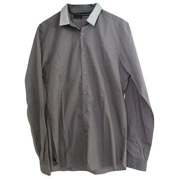 The Kooples Grey Cotton Shirts
