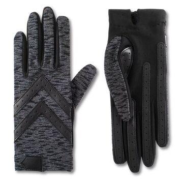 Women's isotoner Water Repellent Shortie Spandex Gloves