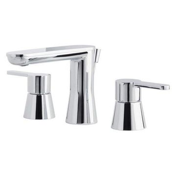 Miseno Mia-G Widespread Bathroom Faucet w/ Pop-Up Drain Assembly, Chro