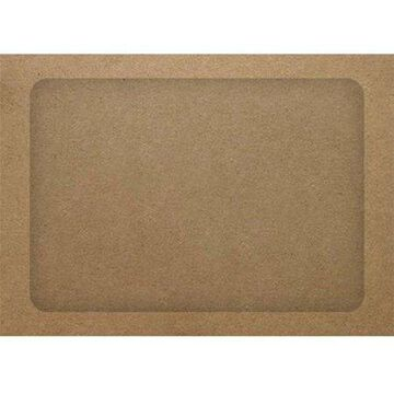 A7 Full Face Window Envelopes - Grocery Bag (1000 Qty.)