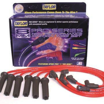 Taylor Cable 72200 8mm Spiro-Pro Ignition Wire Set
