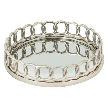 Dimond Home Nickle Ring Tray