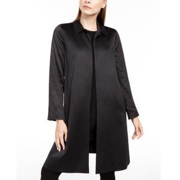 Eileen Fisher Satin Topper Jacket