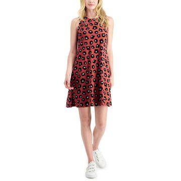 Anne Klein Gwen Printed A-Line Dress