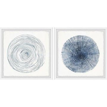 Marmont Hill Circle Lines Diptych
