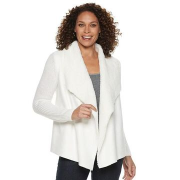 Women's Napa Valley Sherpa Draped Jacket