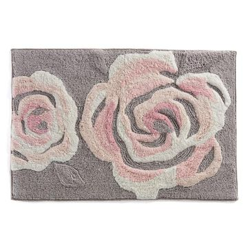 LC Lauren Conrad Rose Tufted Bath Rug