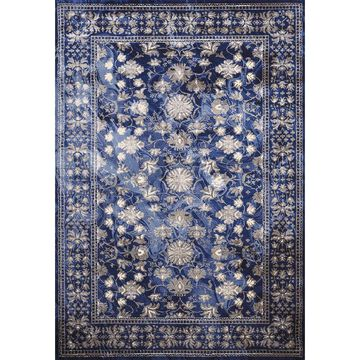 Mirage Australis Area Rug by Christopher Knight Home (5'3 x 7'2 - Blue/Grey)