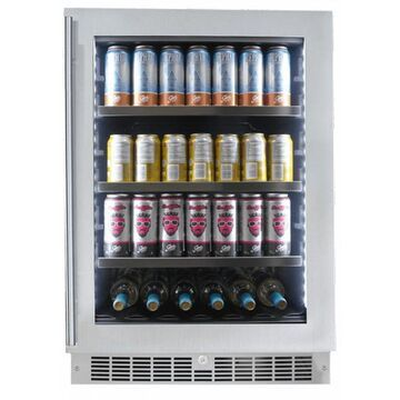 """Danby Silhouette Saxony 24"""" Stainless Frame Single Zone Beverage Center"""