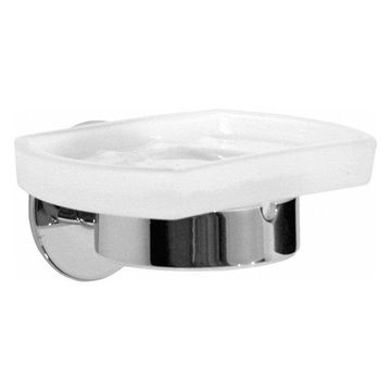 Time Holder With Soap Dish Polished Chrome