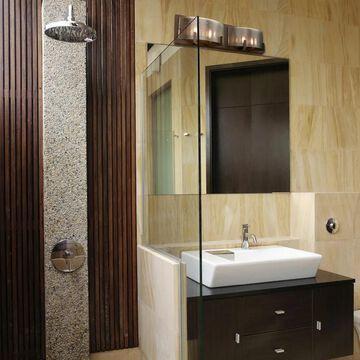 Firefly 4-Light Industrial Bronze Bath Fixture (Warm Bronze)