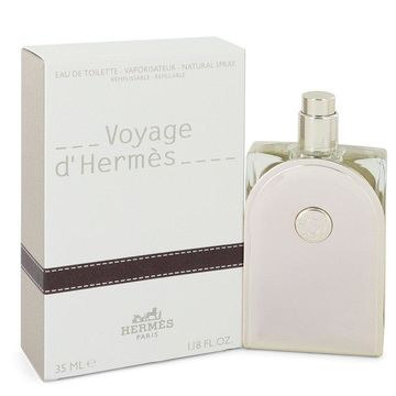 Voyage D'Hermes by Hermes Eau De Toilette Spray Refillable 1.18 oz for Men (Package of 2)
